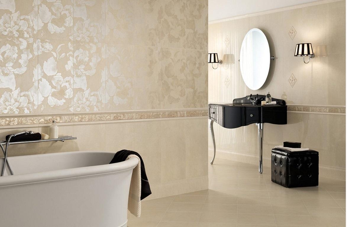 Итальянская плитка в ванную фото